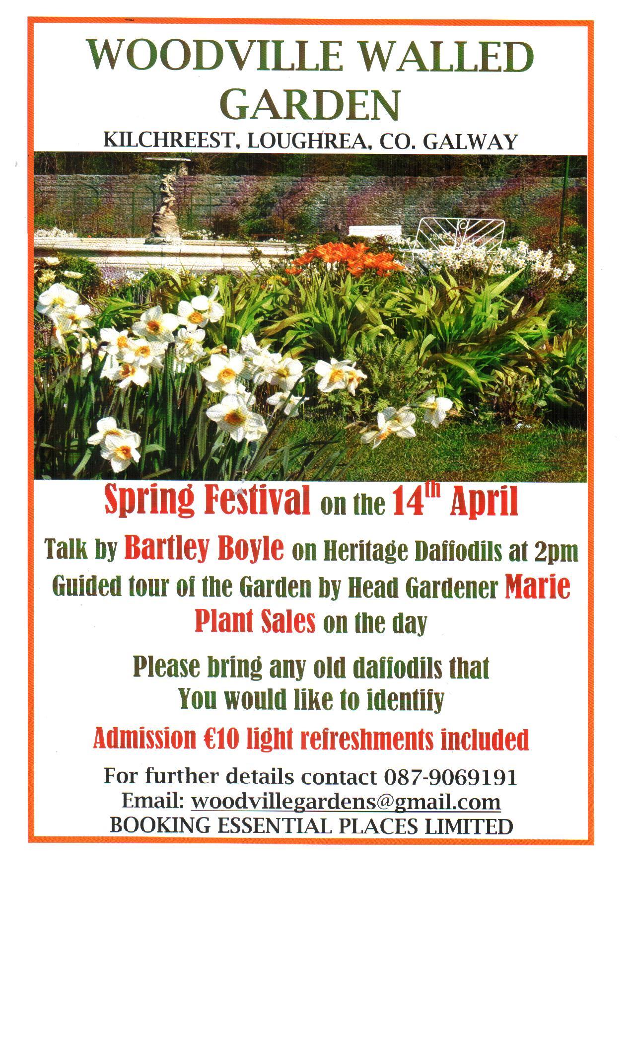 Talk on Heritage Daffodils by Bartley Boyle